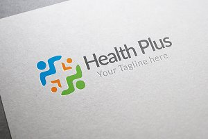 Family Health Plus Logo Template