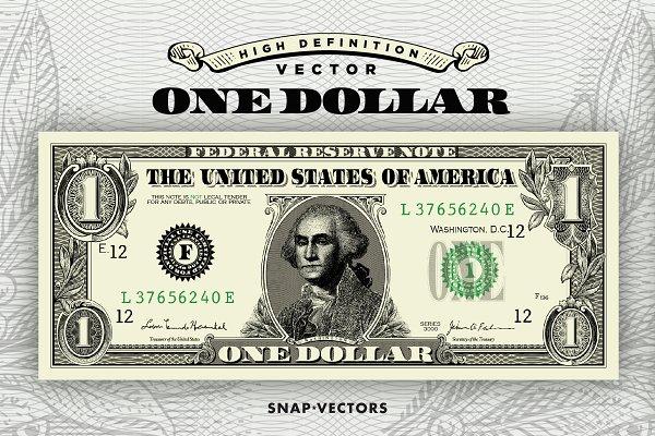 Vector One Dollar