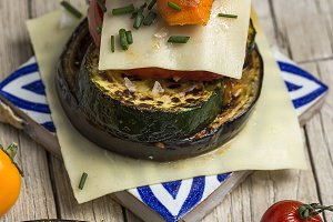 Mix of grilled vegetables