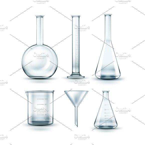 Glass Chemical Laboratory Flasks