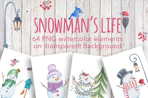 Snowmen's life