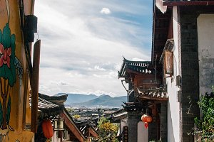 Streets of Lijiang, China