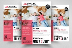 We are Moving House Flyer