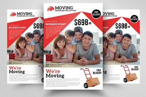 Moving House Service Flyer