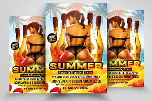 Summer Fun Party Flyer