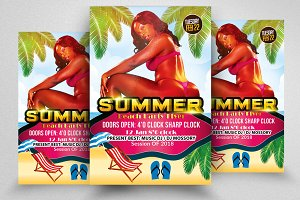 Summer Fun Flyer Templates