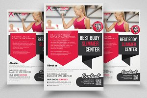Shape Up Flyers Templates