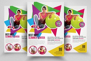 Fitness Centre Flyer Templates