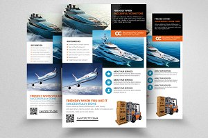 Freight Flyer templates