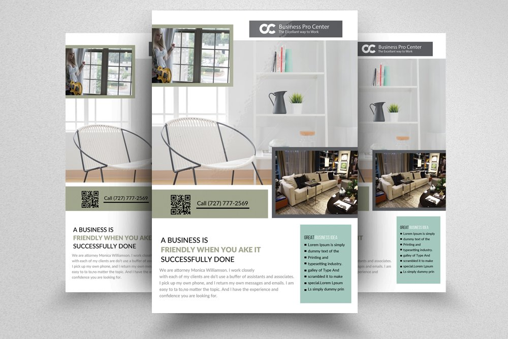 Interior Design Flyer Templates Flyer Templates