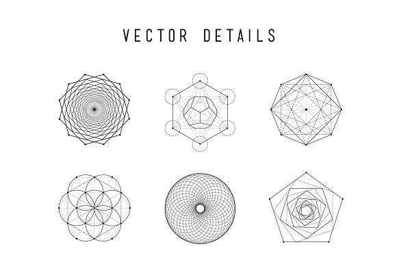 ultimate sacred geometry bundle illustrations creative market
