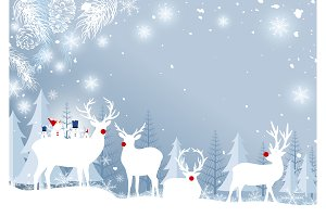 Christmas background design