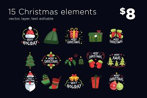 15 Christmas Elements