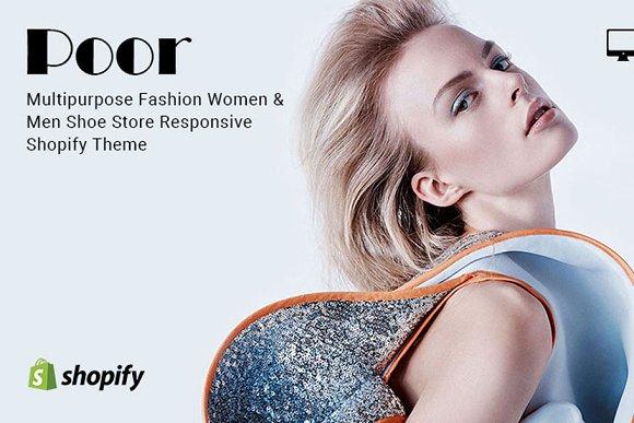 Poor Fashion Store Shopify Theme