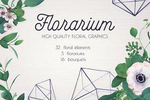Florarium (bundle of 53 elements)