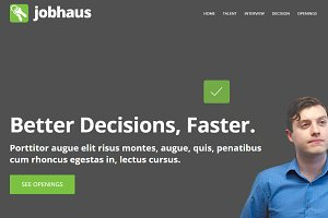 JobHaus - Job Listings Theme