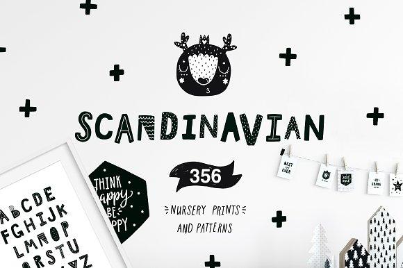Scandinavian - Nursery prints-Graphicriver中文最全的素材分享平台