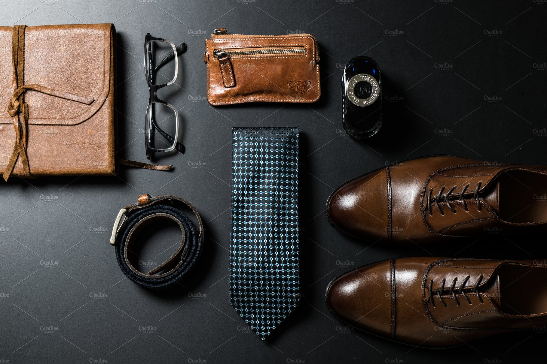 accessories mens business creative