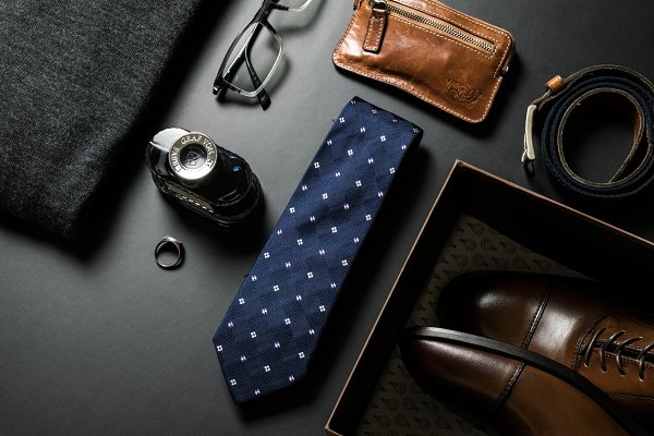 Beauty & Fashion Stock Photos - Men's fashion accessories VIII