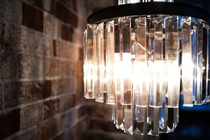 modern lamp for loft interior
