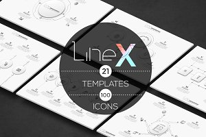 Line-X. Infographic Pack