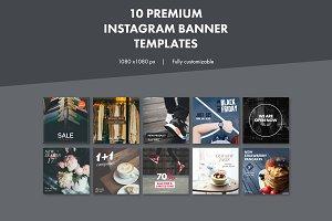 10 Premium Instagram Banners