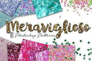 Glitter Texture Pattern Meraviglioso