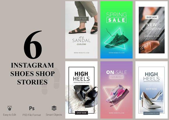 6 Shoes Shop - Instagram Stories