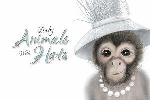 Animal Nursery Prints - Derby Hats
