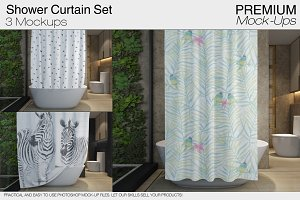 Shower Curtain Mockups