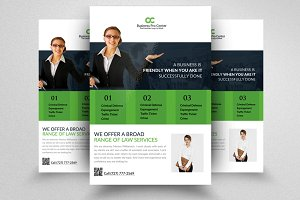 Lawyer Service Business Flyers