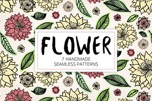 Floral Handmade Seamless Patterns