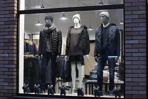 dressed mannequins