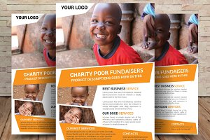 Charity Fundraisers Flyer