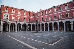 Beautiful photo square of Venice , I