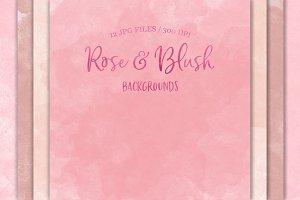 Rose & Blush Backgrounds