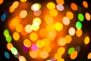 Lights Defocused background