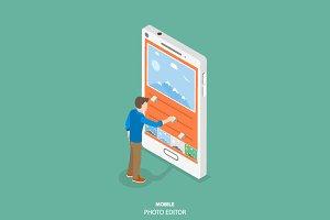 Mobile image editor