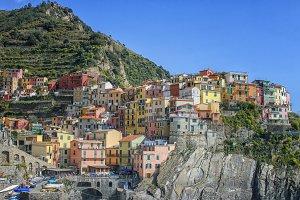 Corniglia in Italy