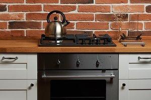 Design of modern kitchen