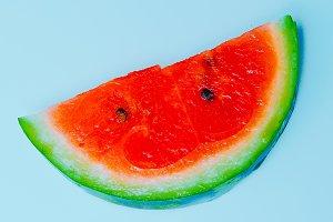 Watermelon minimal art design.