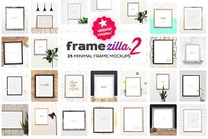 Framezilla 2 | 25 Frame Mockups