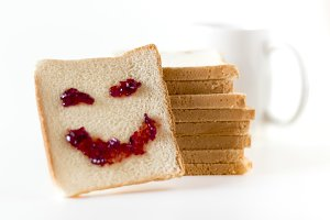 Smile at breakfast