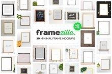Framezilla. 30 Frame Mockups