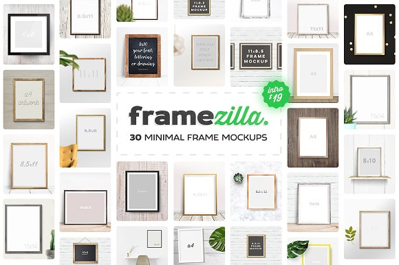 Download Framezilla. 30 Frame Mockups