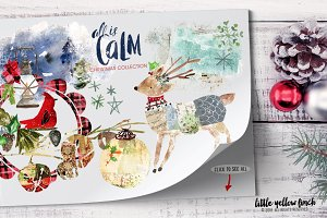 All is Calm Christmas Collection