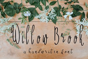 Willow Brook Handwritten Font