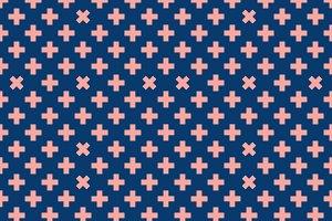 Cross Geometric Pattern