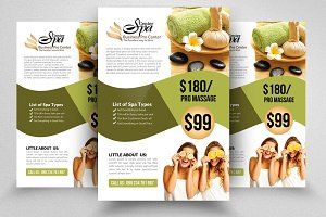 Beauty Spa Flyer