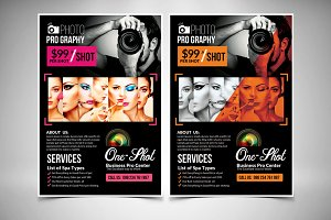 Photography Promo Flyer 2 Options